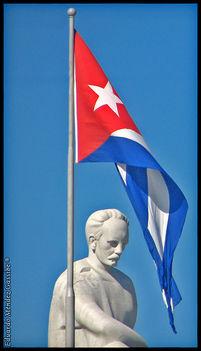José Martí szobra
