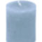 kék színű gyertya a nótaklubban advent első vasárnapján
