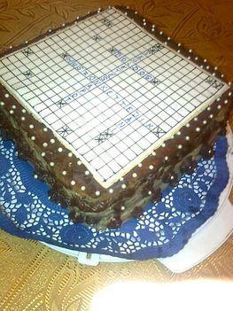 keresztrejtvény torta 2.