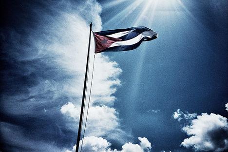 kuba ma is áll a zászló