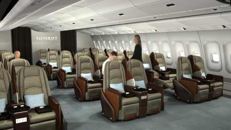 luxusrepülőn