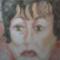 Mari Zsuzsi 30 x 40 kréta , szén , sz  . ceruza