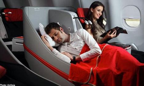 meghitt luxus repülés közben