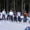 síelős csapat balról: Dóri, Noja, Boró, Meli, Boti, Bence, Kari, Laci