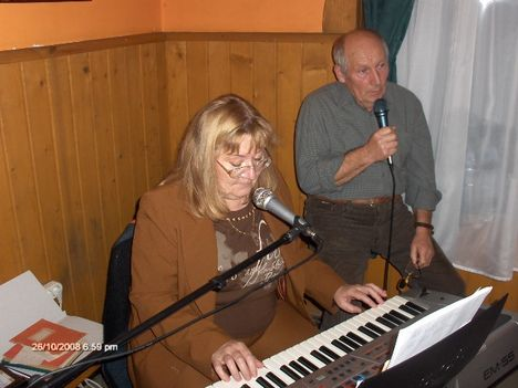 A zenészek: Judit és Lajos