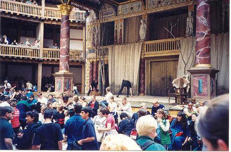 Globe Színház belül