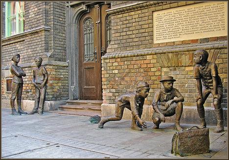 Pál utcai fiúk szobor
