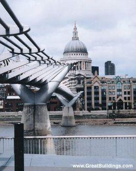 Szent Pál katedrális és a Millenium híd