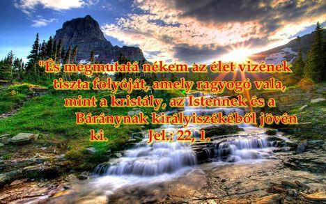 Jézus az élet vize!