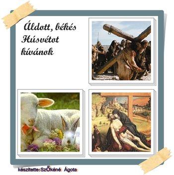 Áldott békés Húsvétot kívánok.