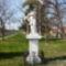 Bezenye, az 1746-ban állított Nepumoki Szent János szobor, 2012. áprílis 03.-án