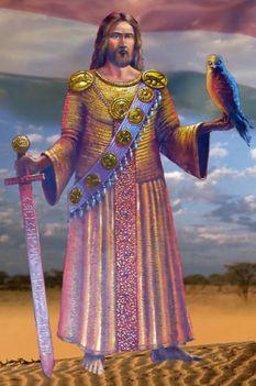 Megváltónk Jézus Krisztus kard és turul