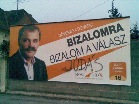 Választási kampány 2012 - Komárom 1