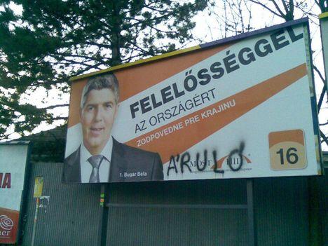 Választási kampány 2012 - Komárom 4