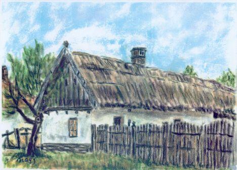 Rábcakapi, 1999, pasztell
