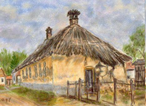Tárnokréti, 1999, pasztell