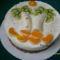 Tojáslikőrös-banános torta
