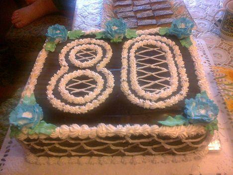 vaniliás csokis torta