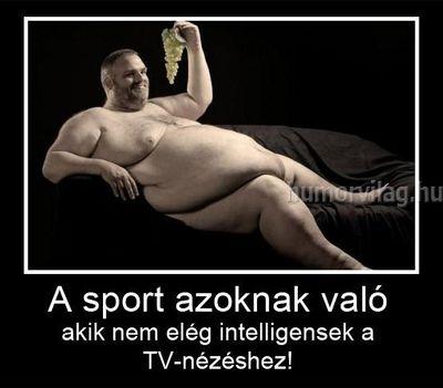 az evés a legjobb sport