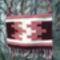 Bordó-fehér-rózsaszín kilim tarisznya - 3000.- értékben