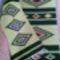 Etno stílusú gyapjú faliszőnyeg és terítő garnitúra - 25.000.-értékben