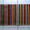 Tarkabarka csíkos kis szőnyeg (lábtörlő vagy ágyelő) - 42x72cm - 1300.- értékben
