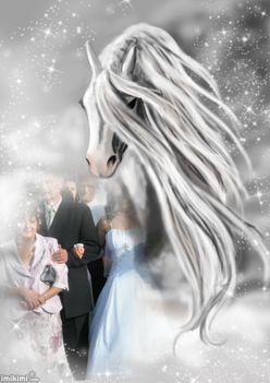 Lovas esküvő