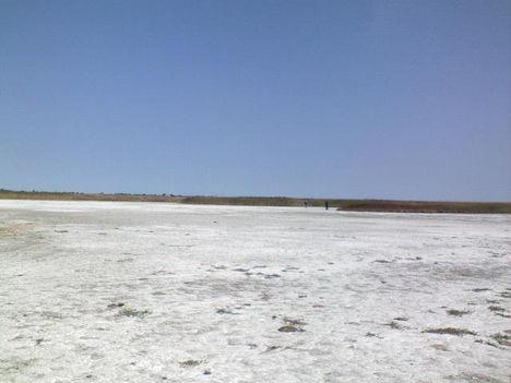 A kiszáradt Fehér-tó