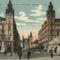 Ferencziek tere az Erzsébet híddal 1930 táján