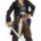 Karib tenger kalózai - Jack Sparrow  jelmez 2