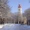 Sümeg-havas fotó a Ferences templomról