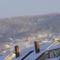 Sümeg-konyha ablakomból fotózva sümegi hegyvonulat