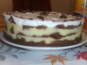 Kekszes torta -  Sütés nélkül