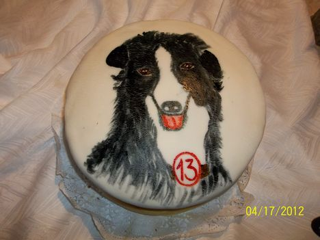 Festett kutyás torta