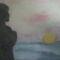 tenger és naplemente 30 x 40 kréta
