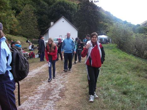2011.Less Nándor 16km-es túra Cserépfalu