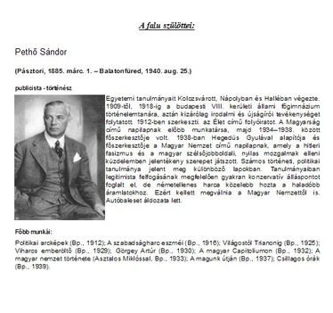 Pethő Sándor