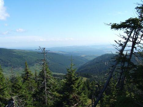 Hargita - Vargyas völgye a Mihályhavasról