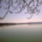 Látkép a Tihanyi rév kikötőből, távolban a földvári Völgyhíddal