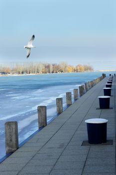 My frozen lake
