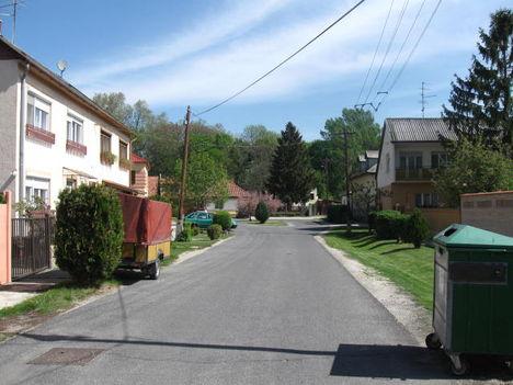 Bíró utca látképe