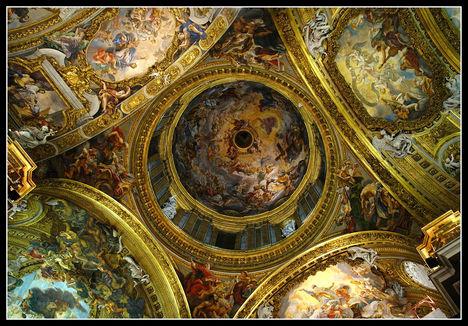 Il Gesu kupola