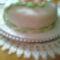 Rózsás (első fondantos tortám)