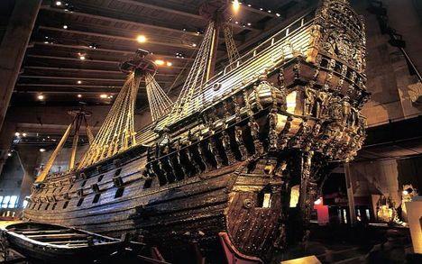 Vasa svéd királyi hadihajó