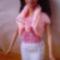 Barbie bolero, csőtop, minialj
