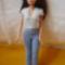 Barbie kötött felső, nadrággal