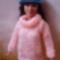 Barbie pulcsi, sapkával