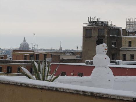 Hó Rómában