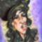 Amy Winehouse karikatúra