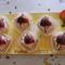 Csokis epres szeletek
